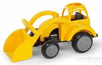 Трактор с ковшом Viking Toys 25 см Трактор с ковшом Viking Toys 25 см желтый