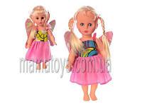 Кукла платье с крыльями 128V-3V  звук, 28 см,
