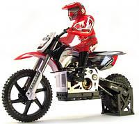 Радиоуправляемый мотоцикл 1:4 Himoto Burstout MX400 Brushed Мотоцикл 1:4 Himoto Burstout MX400 Brushed (красный)
