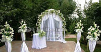 Оформление церемонии бракосочетания Киев