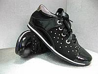 """Туфли кожаные лакированные черные на девочку 34р.""""Palaris"""" Украина"""