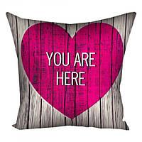 Подушка Ты в моем сердце Мини