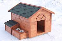 Будка для собак № 8 с утепленным полом,  Н800, 800*1100