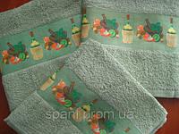 Полотенце махровое для кухни 40*60, Овощи, Пакистан