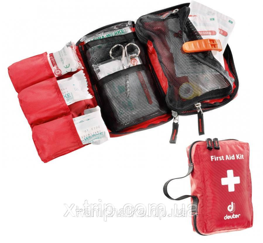 Аптечка походная Deuter First Aid Kid M цвет 5050 fire