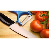 Керамический нож и овощечистка