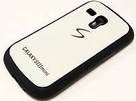 Чехол силиконовый с пластиковой вставкой и логотипом samsung для Samsung Galaxy S III mini GT-I8190