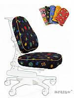Чехлы для кресел Mealux Y-317 / Y-818 ткань черная с жучками, для кресла Y-818