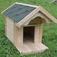 Будка для собак № 1 с утепленным полом,  Н750, 540*1100