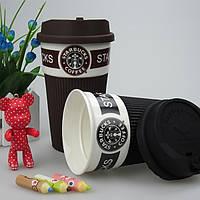 Стильный керамический стакан (чашка) Starbucks