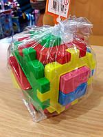 Развивающая игрушка  Куб Логика 18 элементов