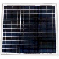 Поликристалическая сонячна батарея Perlight 50Вт 12В