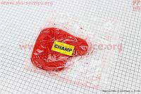 Элемент воздушного фильтра красный поролон с пропиткой на скутер Yamaha CHAMP