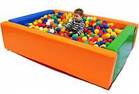 Сухой бассейн для детей Kidigo Прямоугольник 1,5  х 1,2 м