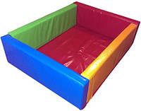 Сухой бассейн для детей Kidigo Квадрат 1,5 м