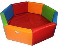 Сухой бассейн для детей Kidigo Восьмиугольник 2 м