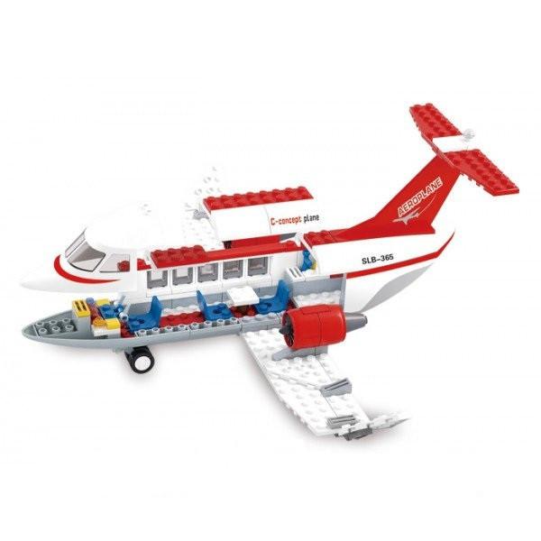 Конструктор Sluban M38-B0365 Самолет, 275 деталей