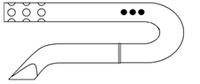 Дренаж типа РЕДОН (с пластиковым троакаром)
