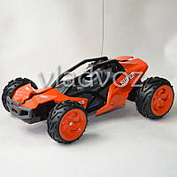 Машинка на радио управлении модель большой багги оранжевый KKS 35 км.ч