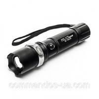 Тактический сверхмощный фонарик Bailong BL-X8626 Police 3000W,фонари, комплектующее,светотехника и аксессуары,