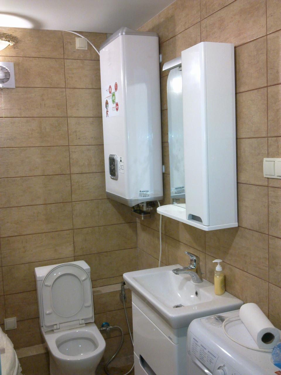 Установка водонагревателя Днепр