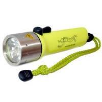 Подводный фонарь для охоты или дайвинга на аккумуляторе police PF 03-3000W Lum, желтый,фонари, комплектующее