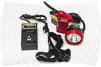 Современный профессиональный светодиодный шахтёрский фонарь, с навесным литий ионным аккумулятором,фонари,