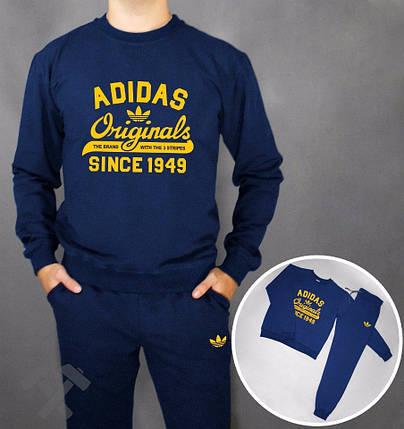 Спортивный костюм т.синий Adidas Originals since 1949, фото 2