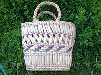 Корзина детская плетенная соломенная, фото 1
