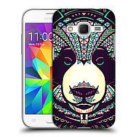 Пластиковый чехол для Samsung Galaxy Core Prime узор Ацтекская панда