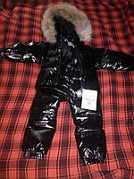 Детский зимний комбинезон Moncler(Монклер) на рост 80-90см
