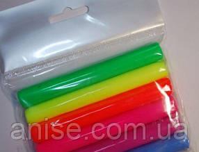 Полимерная глина Пластишка Набор 6 цветов флуоресцентный
