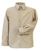 Школьная рубашка для мальчика Полоска