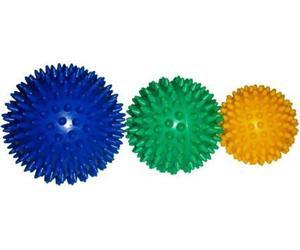 Мяч массажный жёсткий. Диаметр 7,5 см