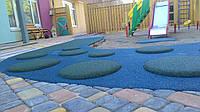 Травмобезопасное покрытие для детских площадок, 10 мм