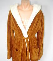 Мужской халат длинный с поясом