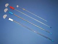 Дренаж торакальный (на металлическом стилете - троакаре) D 10 mm.