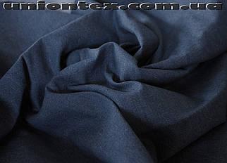 Ткань джинс синий