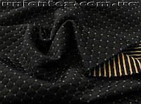 Стеганный трикотаж ромб Zara черный