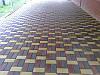 Тротуарная плитка «Кирпичик» 6 см