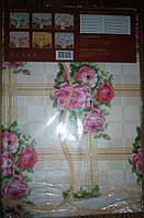 Скатерть клеенка цветная Tablecloth в ассортименте Волна, фото 1
