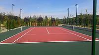Покрытие из резиновой крошки для тенниса