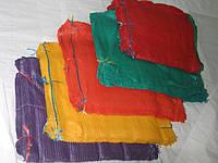 Сетка-мешок 50х80 зеленая, фиолетовая, красная