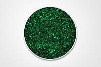 Сухие блестки, цвет зеленый, 10 г, 0,4 мм