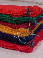 Сетка-мешок 40х60 красная, фиолетовая, зеленая Китай, фото 1