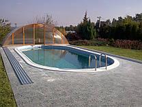 Строительство пленочного бассейна 8 х 4-1,5м