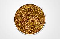 Сухие блестки, цвет золотой, 10 г, 0,4 мм