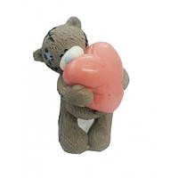 Натуральное мыло Мишка с сердцем