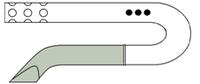 Дренаж типа РЕДОН (с металлическим троакаром) D 6mm