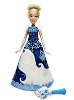 Кукла Золушка Принцесса Диснея меняет цвет платья Disney Princess Cinderella's Magical Story Skirt